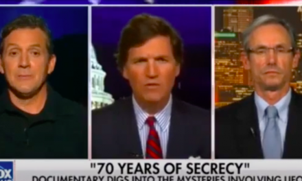 "Tucker Carlson ITW Chris Mellon et James Fox, réalisateur du doc ""The Phenomenon"" 9 Octobre 2020"
