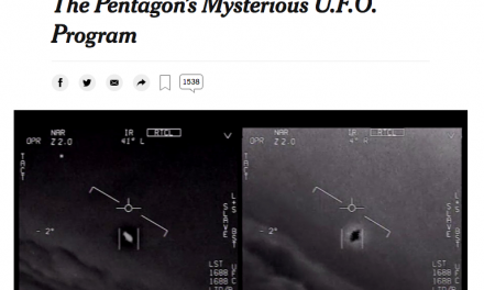 Ptn, 3 ans ! Glowing Auras and 'Black Money': The Pentagon's Mysterious U.F.O. Program